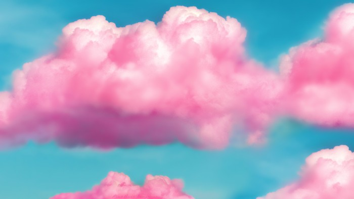 tumblr_static_pink_fluffy_clouds_hd_wallpaper_by_pinkquilldesign-d671se6